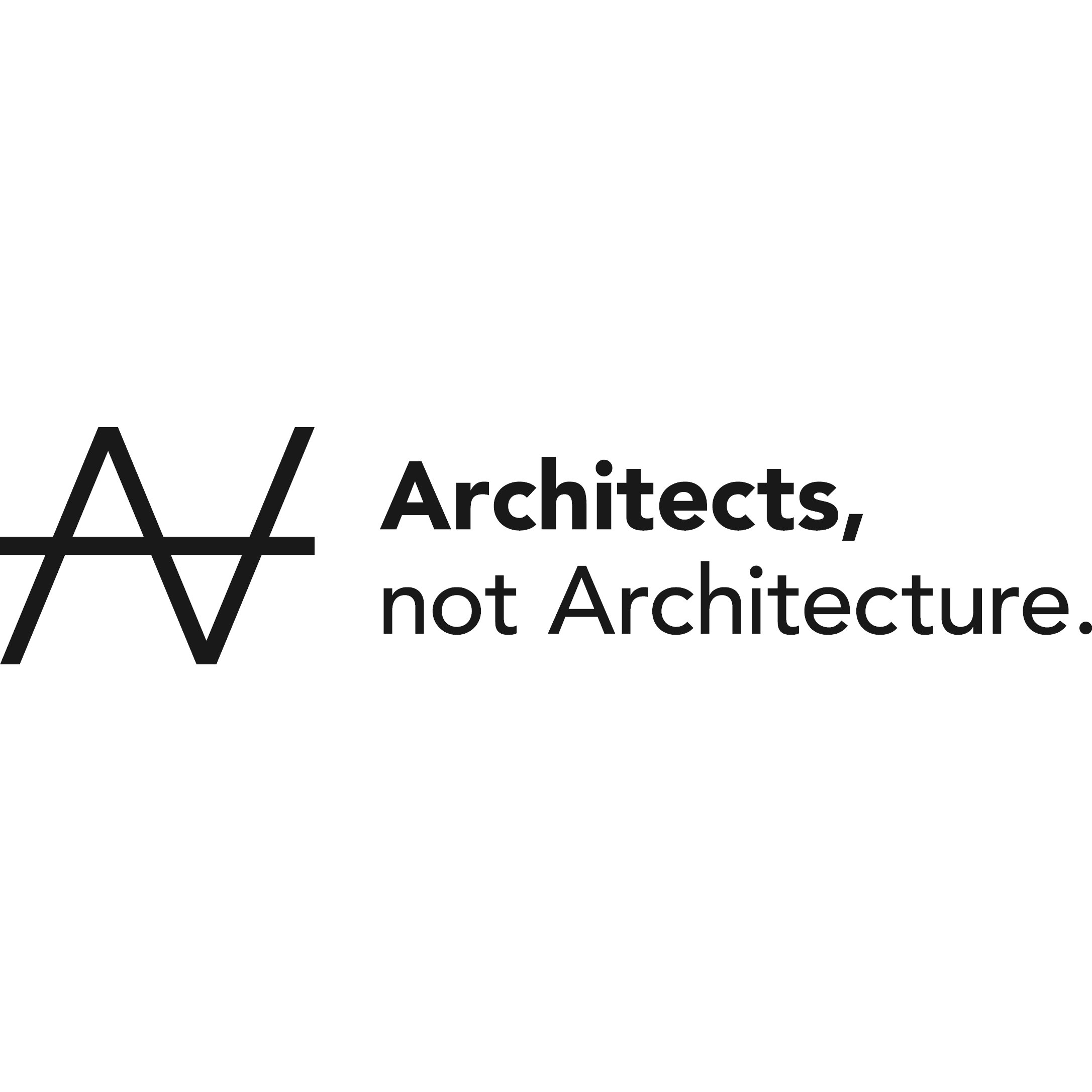 Architects, not Architecture
